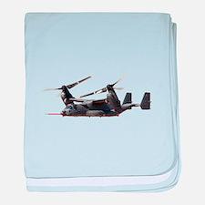 V-22 Osprey Aircraft baby blanket