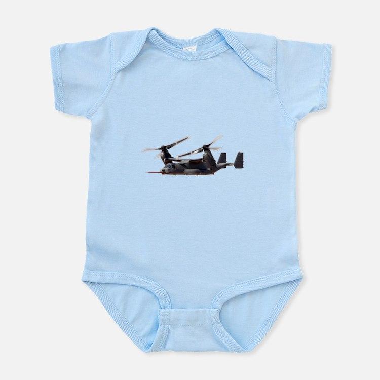 V-22 Osprey Aircraft Infant Bodysuit