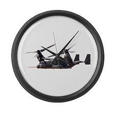 V-22 Osprey Aircraft Large Wall Clock
