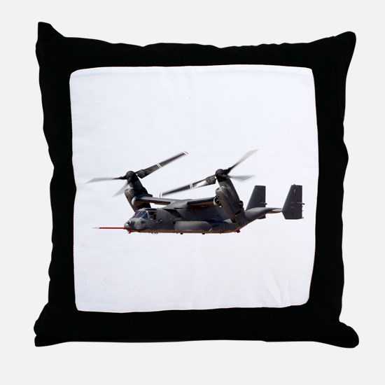 V-22 Osprey Aircraft Throw Pillow