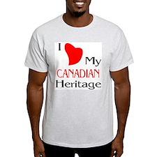 Canadian Heritage Ash Grey T-Shirt