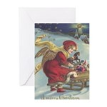 2013 Mucha Christmas Card Greeting Cards