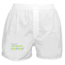 bird whisperer Boxer Shorts