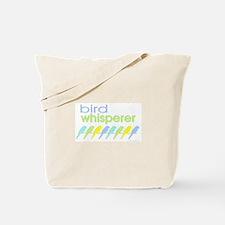 bird whisperer Tote Bag