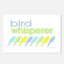 bird whisperer Postcards (Package of 8)