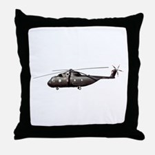 Sea King / Pelican Helicopter Throw Pillow