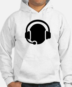 Headset call center Hoodie