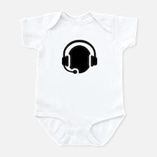 Headset call center Infant Bodysuit