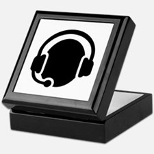 Headset call center Keepsake Box