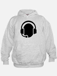 Headset call center Hoodie