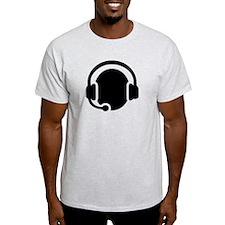 Headset call center T-Shirt