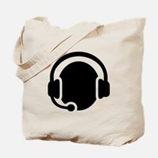 Headset call center Tote Bag