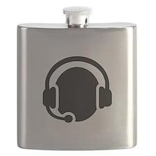 Headset call center Flask