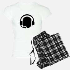 Headset call center Pajamas