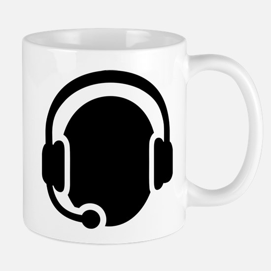 Headset call center Mug