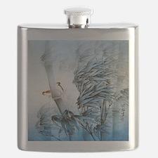 Vintage Oriental Art Flask