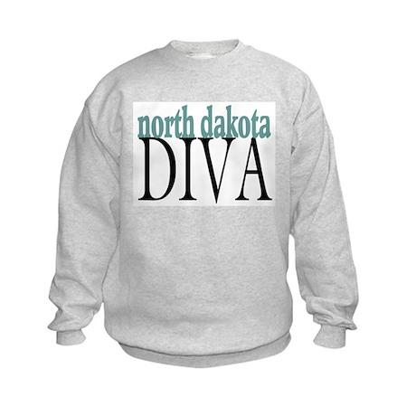 North Dakota Diva Kids Sweatshirt
