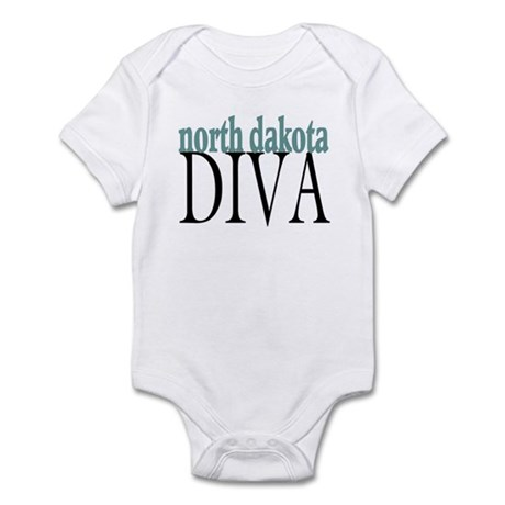 North Dakota Diva Infant Bodysuit