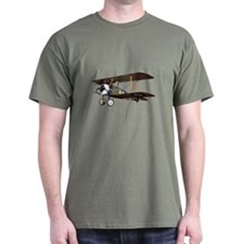 Camel Biplane Fighter T-Shirt