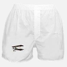 Camel Biplane Fighter Boxer Shorts