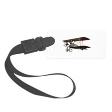 Camel Biplane Fighter Luggage Tag