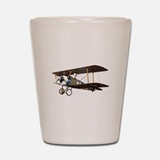 Camel Biplane Fighter Shot Glass
