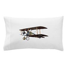 Camel Biplane Fighter Pillow Case