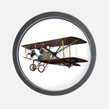 Camel Biplane Fighter Wall Clock
