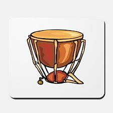 tympani drum percussion design Mousepad
