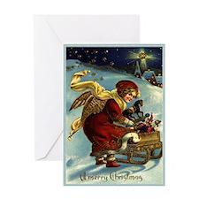 2013 Mucha Christmas Card Greeting Cards