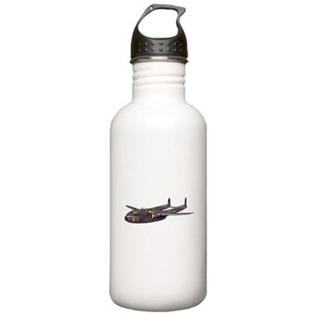 C-119 Flying Boxcar Stainless Water Bottle 1.0L