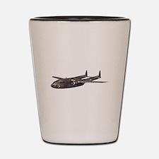 C-119 Flying Boxcar Shot Glass