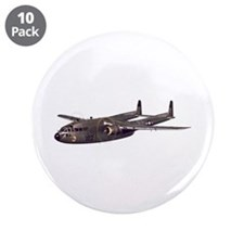 "C-119 Flying Boxcar 3.5"" Button (10 pack)"