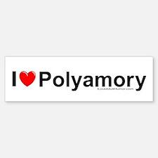 Polyamory Bumper Bumper Sticker