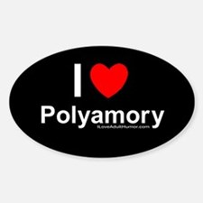 Polyamory Decal
