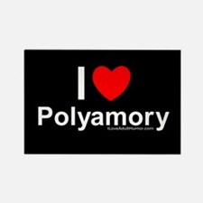 Polyamory Rectangle Magnet