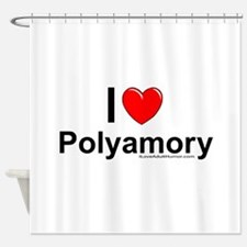 Polyamory Shower Curtain
