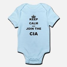 KEEP CALM AND JOIN THE CIA Body Suit