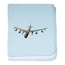 B-52 Stratofortress Bomber baby blanket