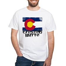 Crested Butte Grunge Flag Shirt