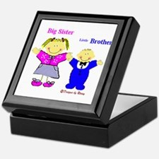 Big Sister and Little Brother Keepsake Box