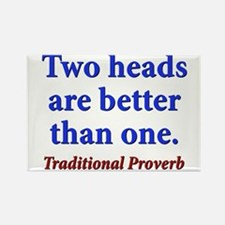 Two Heads Are Better Than One - Traditional Rectan