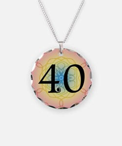 40th Birthday Party For Her Necklace