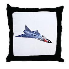 F-102 Delta Dagger Throw Pillow