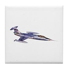 F-104 Starfighter Tile Coaster