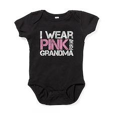 IWearPinkForGrandma Baby Bodysuit