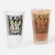 Soul Sisters Angels Drinking Glass