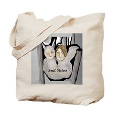 Soul Sisters Angels Tote Bag