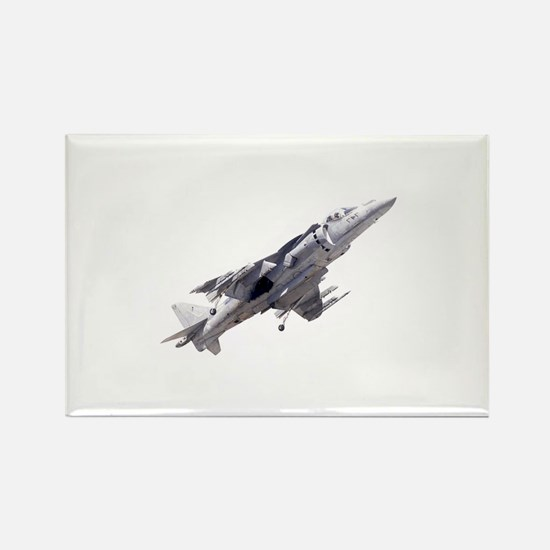 Harrier II Jump Jet Rectangle Magnet