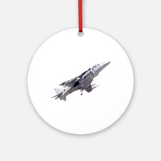 Harrier II Jump Jet Ornament (Round)